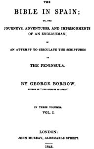 The Bible in Spain - George Borrow